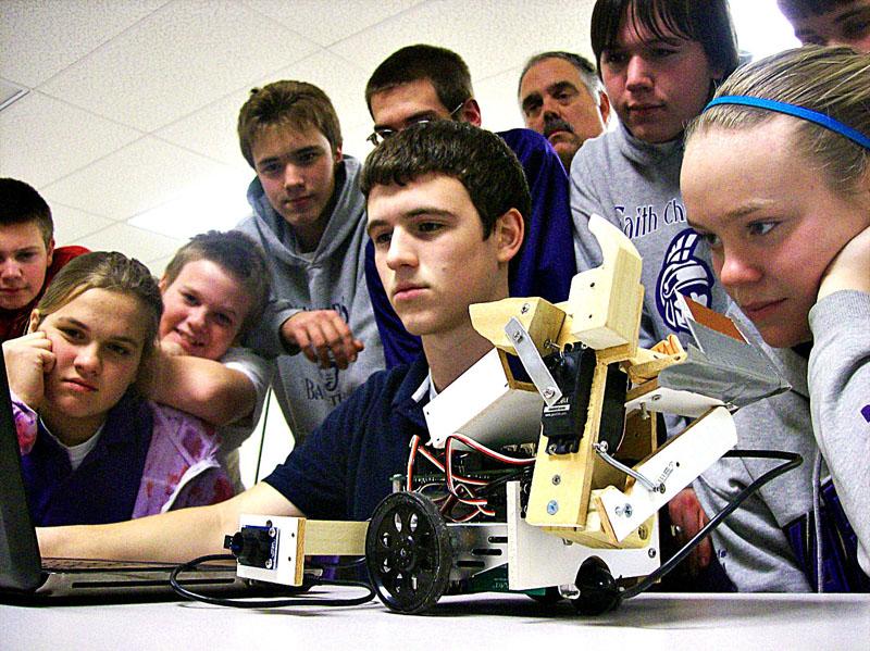 Faith Christian School Robotics Team Wins Regional ...