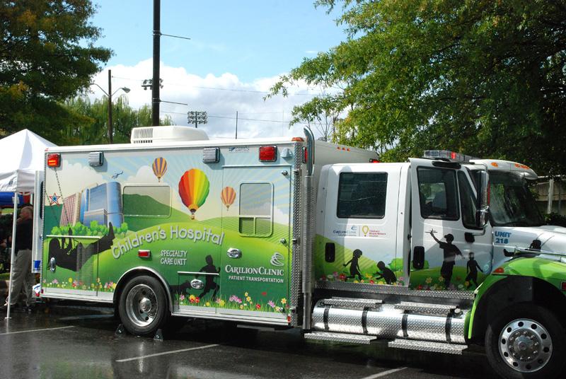 Carilion Clinic Children's Hospital Unveils Mobile Intensive
